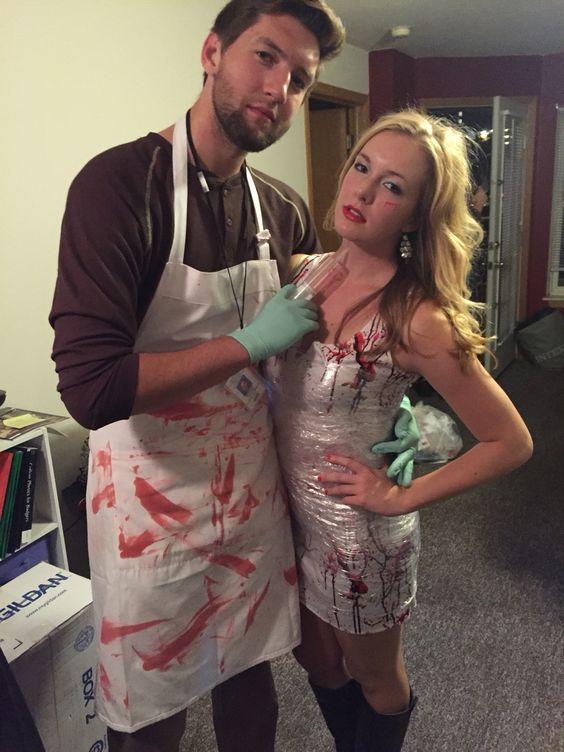 Dexter Couple Costume.