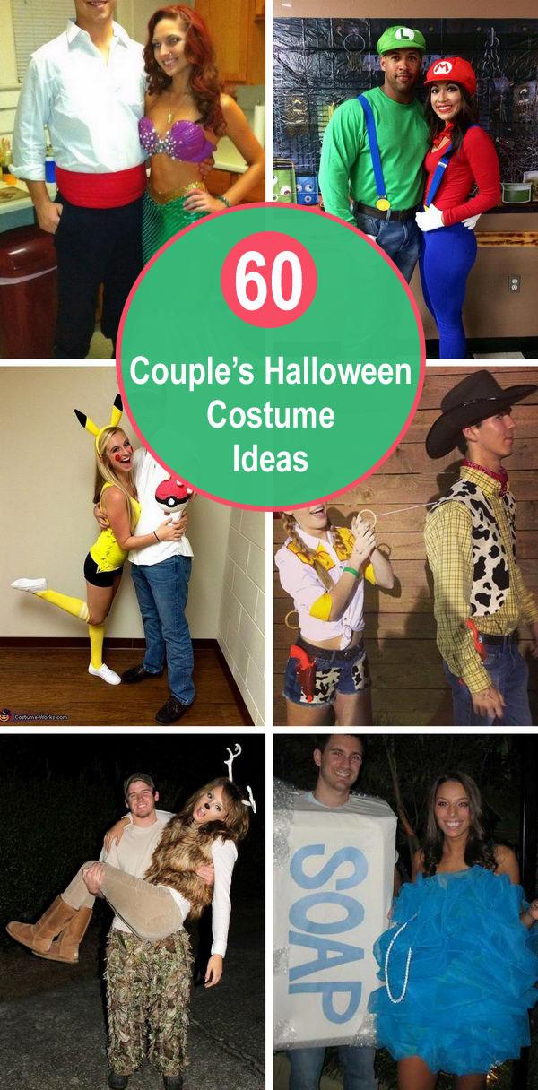 60+ Couple's Halloween Costume Ideas.