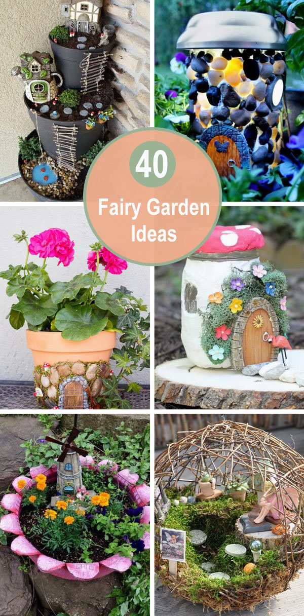 40+ Fairy Garden Ideas.