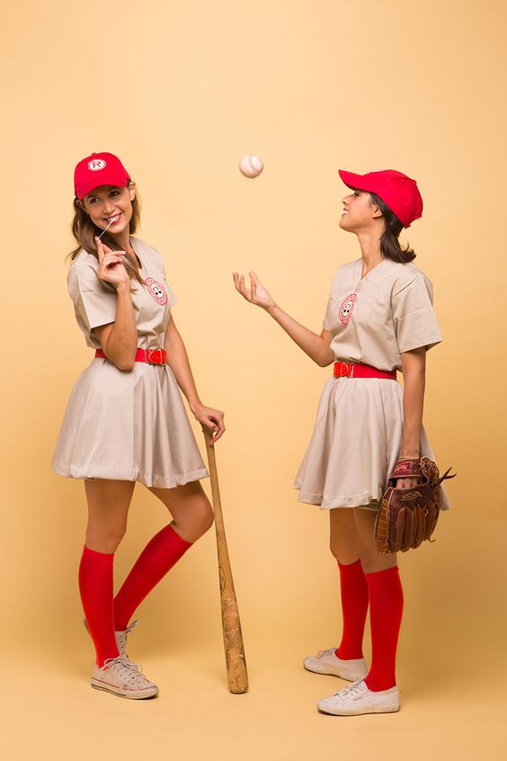 A League Of Their Own Costume.
