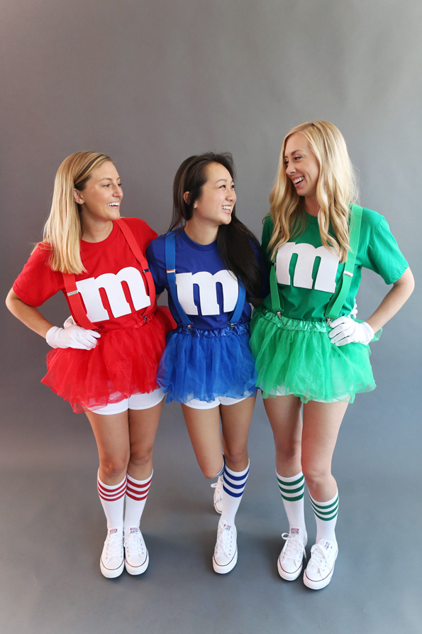 M And M Costume  sc 1 st  Crafts Booming : friends halloween costume ideas  - Germanpascual.Com