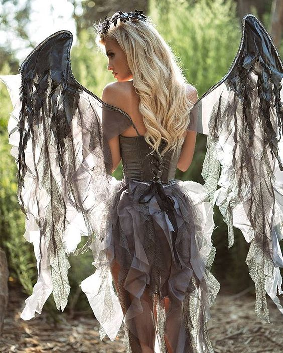 Deluxe Dark Angel Costume.