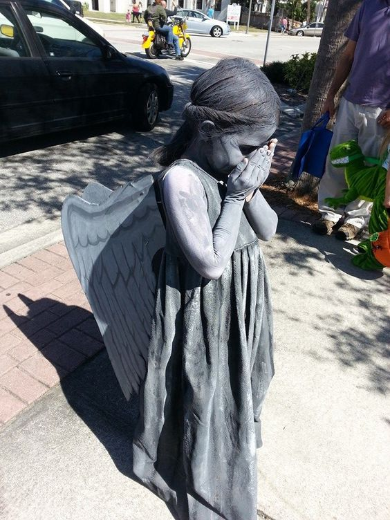 Weeping Angel Costume.