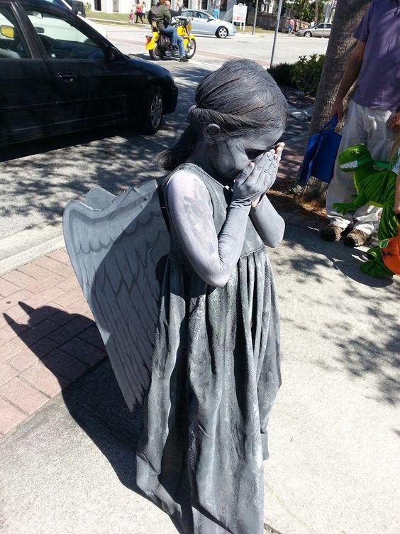 Weeping Angel Costume.