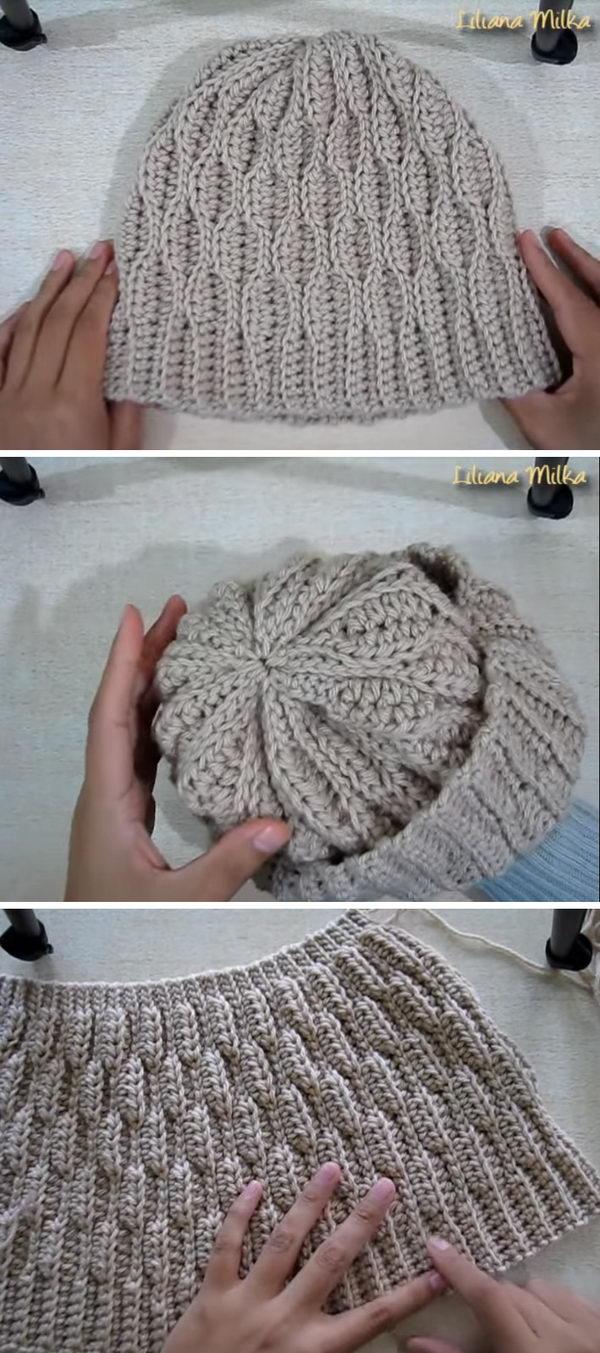 15 Crochet Hat Ideas 2017