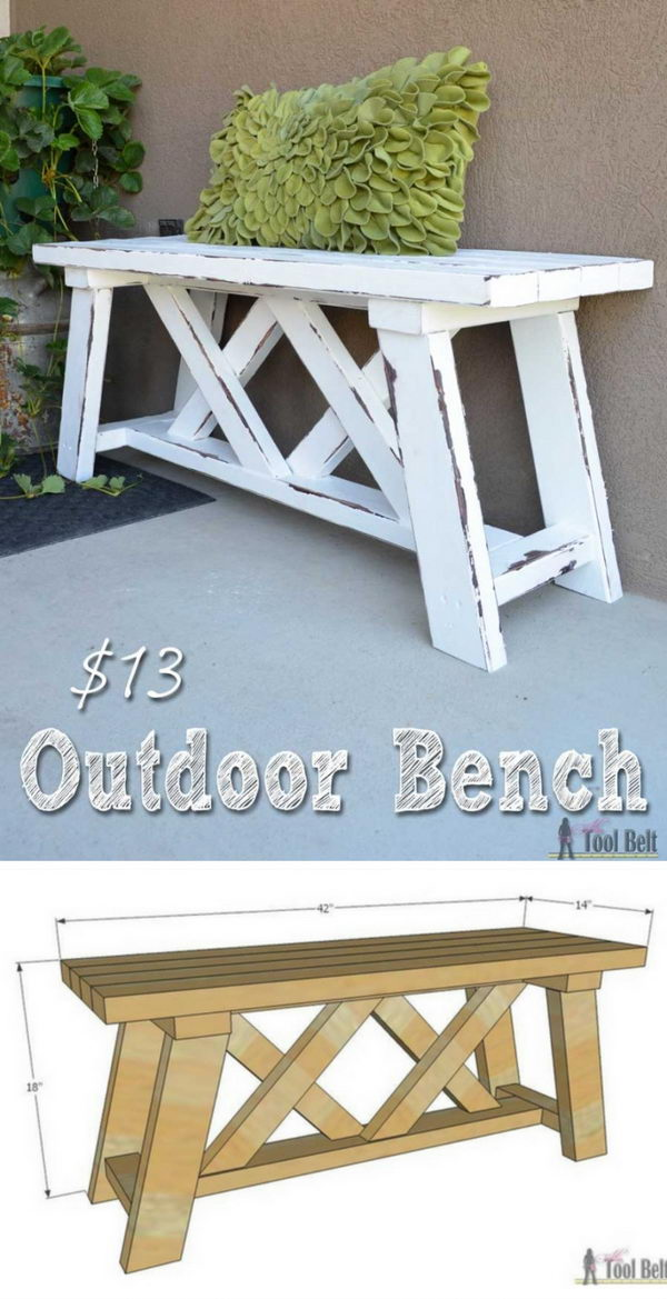Outdoor Bench.