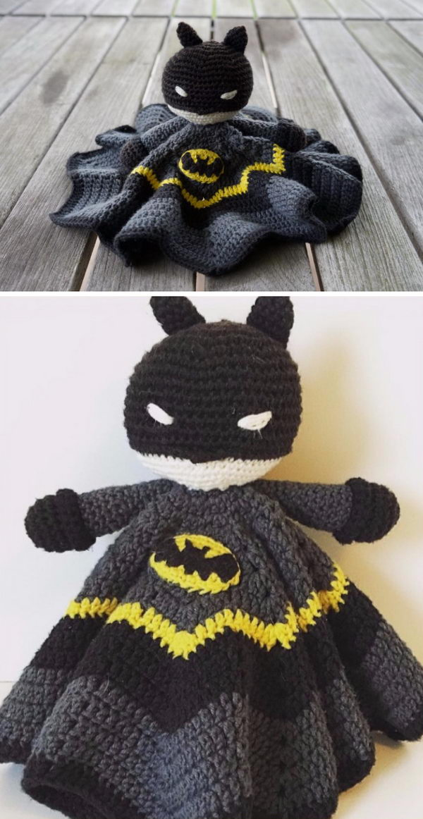 Amigurumi Crochet Batman Lovery.