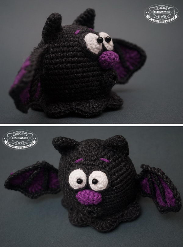 Crochet Fat Bat.