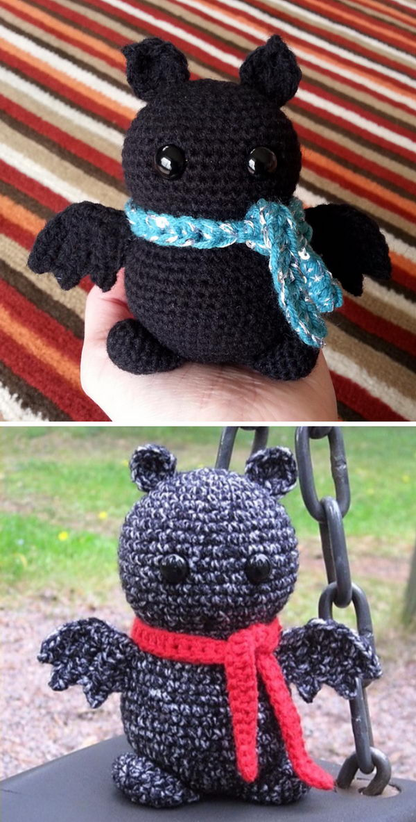 Big Amigurumi Brew The Bat.