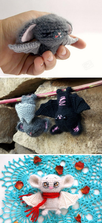 Crochet Bat Amigurumi.