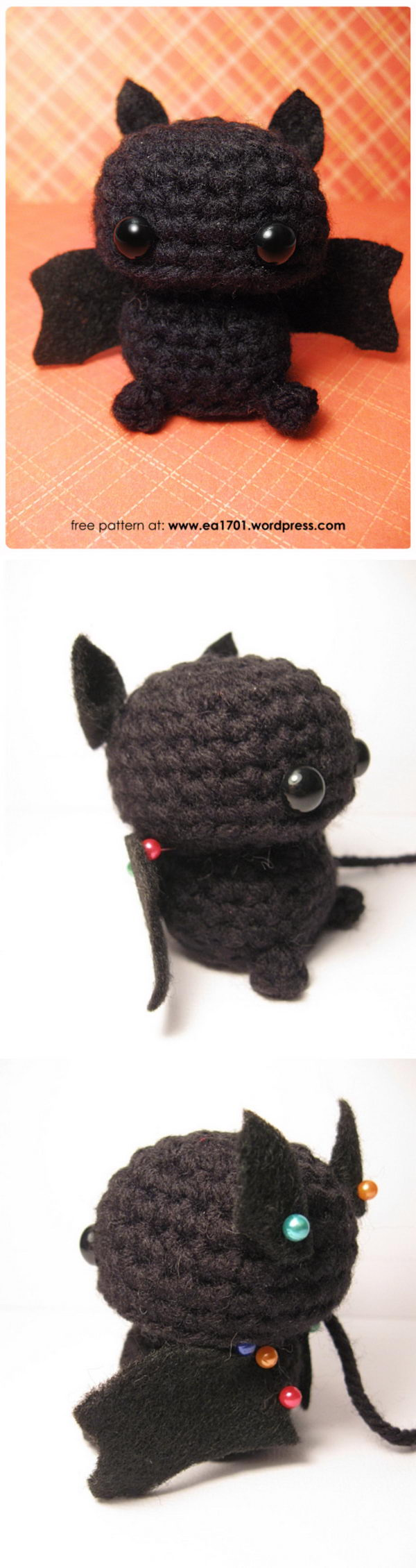 Crochet Bitty Bat.