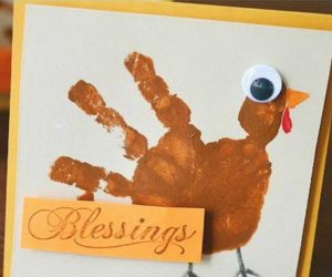 20 DIY Thanksgiving Greeting Cards