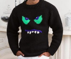 15 Crochet Men Sweater Patterns